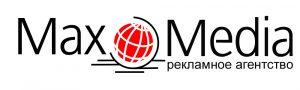 """Логотип РА """"MaxMedia"""""""